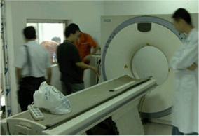 郑州中心医疗设备的搬运就位